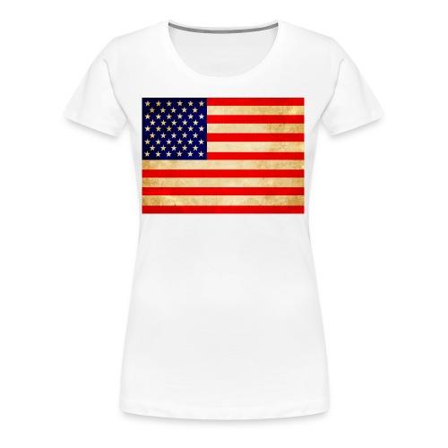 usa - Frauen Premium T-Shirt