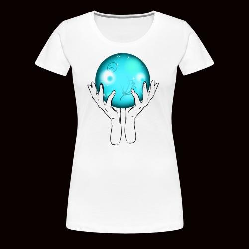 bubble - Frauen Premium T-Shirt