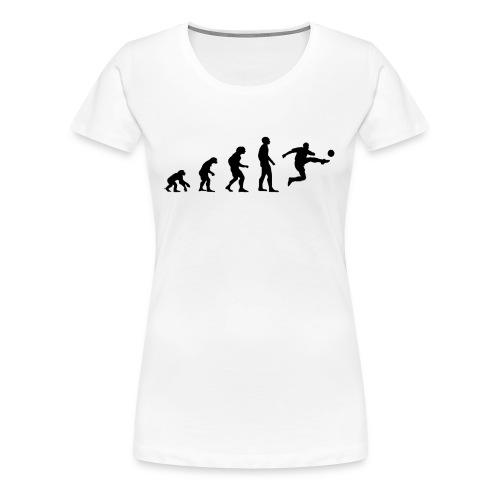 Fußball Bundesliga Evolution Sport Spiel Geschenk - Frauen Premium T-Shirt
