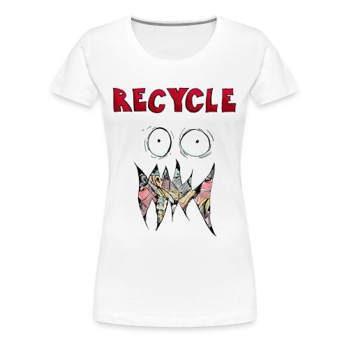 Recycle! - Vrouwen Premium T-shirt