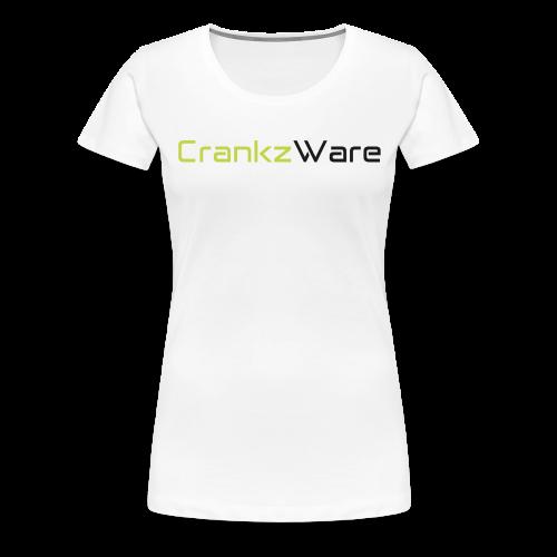 CrankzWare Tech-Font Only 4 Grills - Frauen Premium T-Shirt