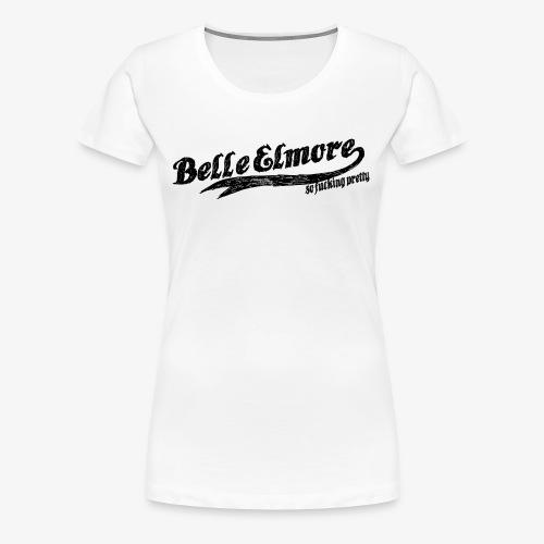 Belle Elmore Baseball - Women's Premium T-Shirt