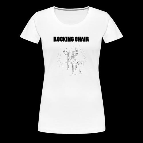 Rocking Chair - Women's Premium T-Shirt