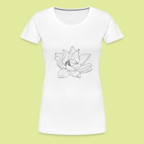 FlowerBlüte - Frauen Premium T-Shirt