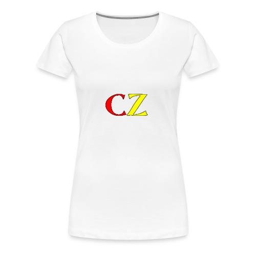 CZ vrouwen t-shirt - Vrouwen Premium T-shirt