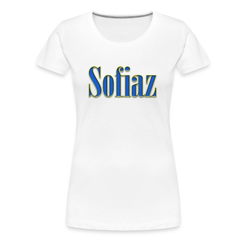 Sofiaz - Premium-T-shirt dam