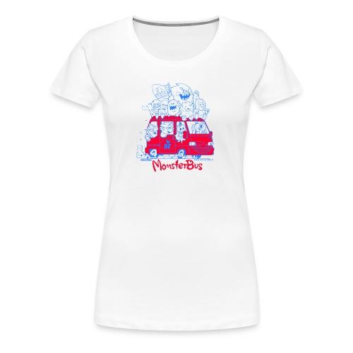 Monsterbus Libero - Frauen Premium T-Shirt