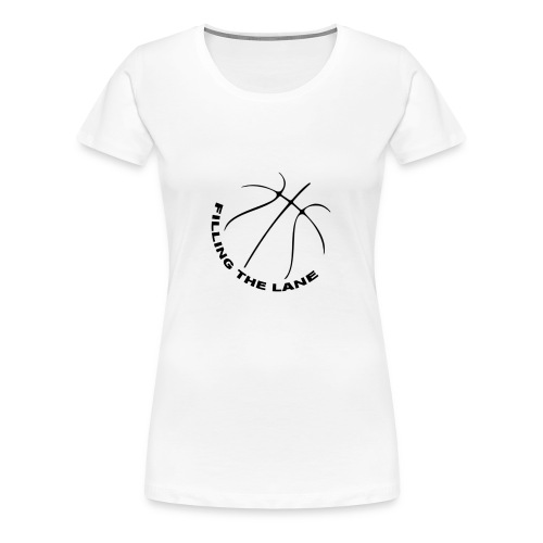 FillingTheLane.com Original T-Shirt - Vrouwen Premium T-shirt