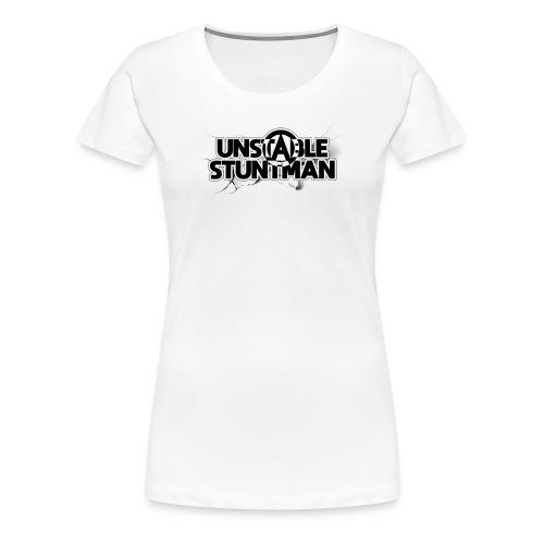 Unstable Stuntman - Premium-T-shirt dam