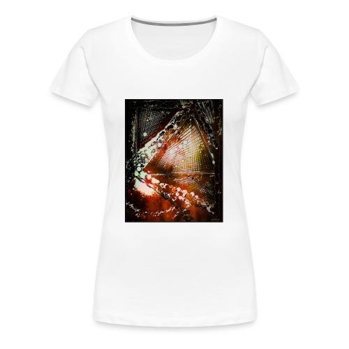 Verfangen in Struktur - Frauen Premium T-Shirt
