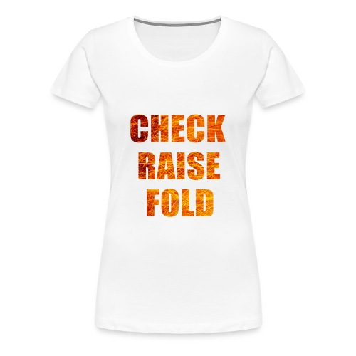 Check Raise Mug - Women's Premium T-Shirt