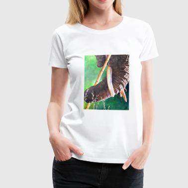 Mousepad Elefanti design - Maglietta Premium da donna