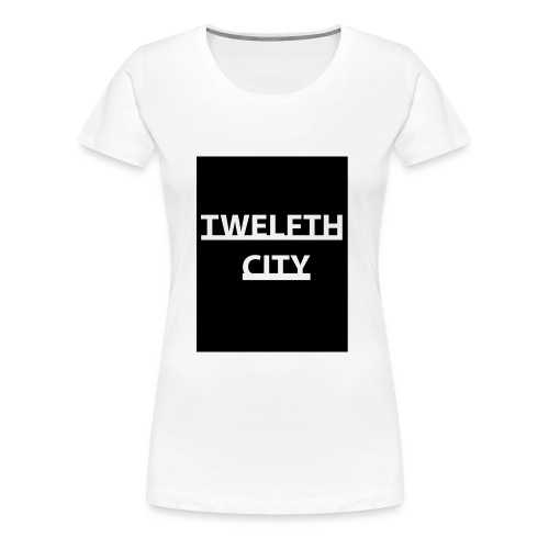 Twelfth City Black - Women's Premium T-Shirt