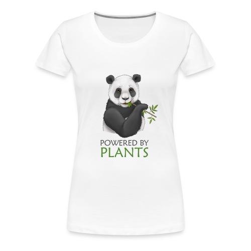 Panda 2 Plantbased - Premium-T-shirt dam