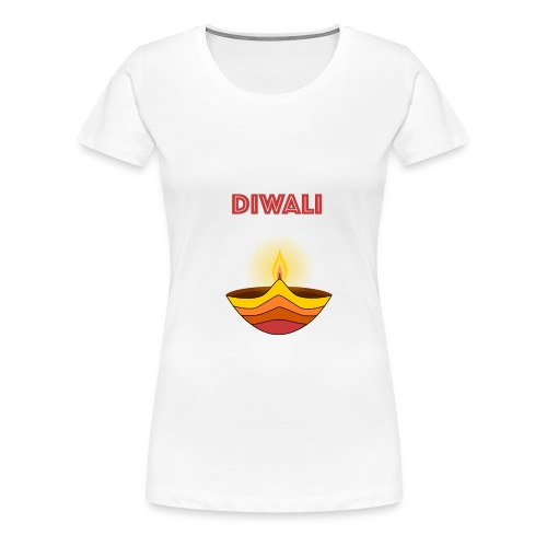 HAPPY DIWALI - Women's Premium T-Shirt