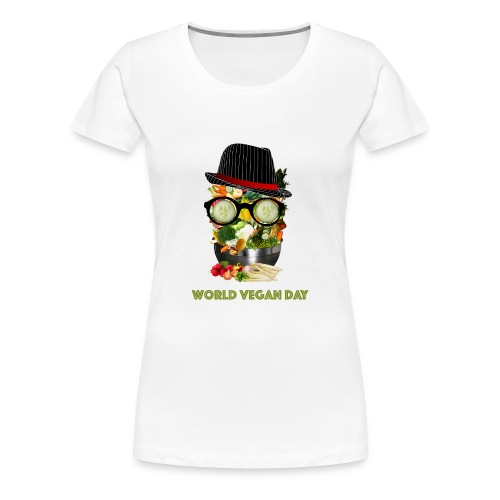 world vegan day - Women's Premium T-Shirt