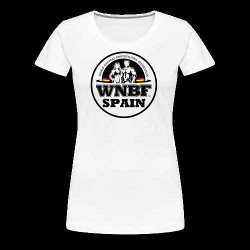 LOGO WNBF SPAIN - Camiseta premium mujer
