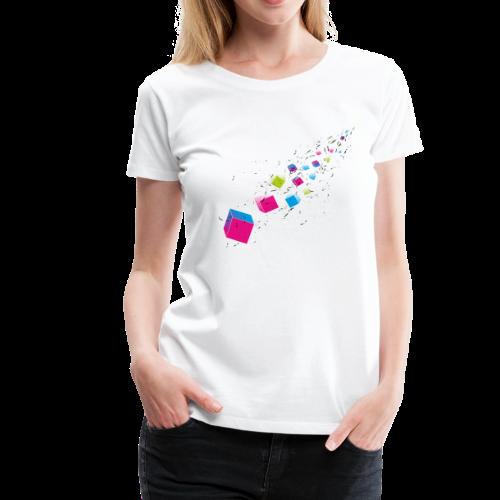 Cubechaos - Party und Open Air Festival Motiv - Frauen Premium T-Shirt