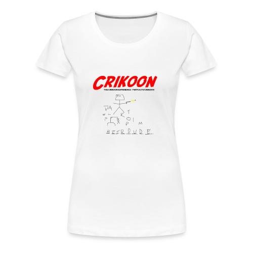beerdude-png - Women's Premium T-Shirt