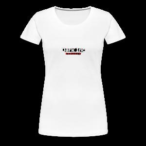 Dark Inc Text - Dame premium T-shirt