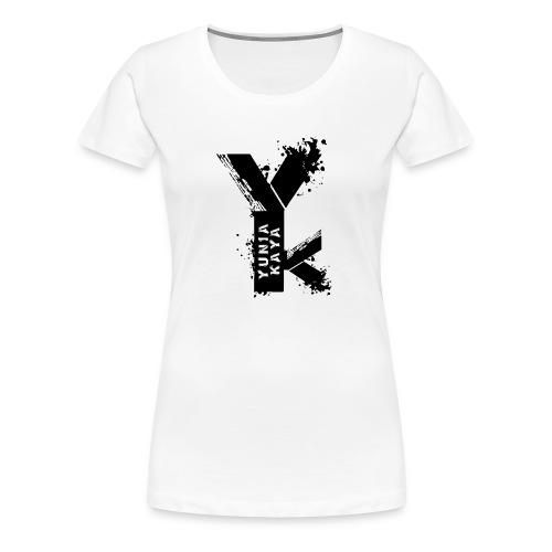 Yunia Kaya Schwarz Weiss - Frauen Premium T-Shirt