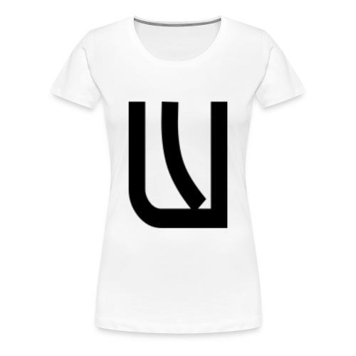 W Noir - T-shirt Premium Femme