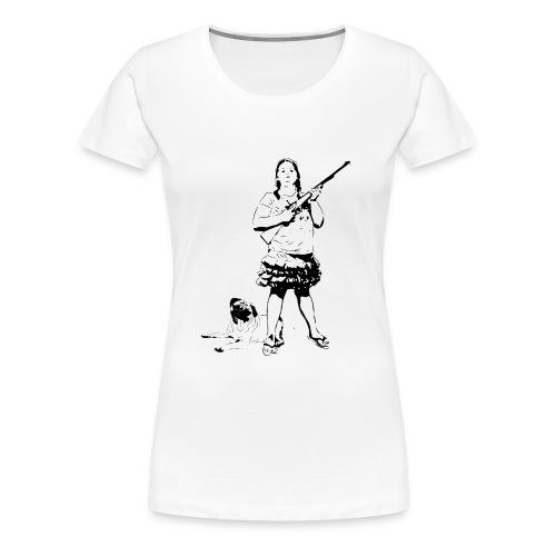 Hillbilly-Girl - Frauen Premium T-Shirt