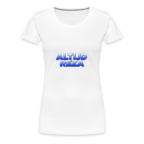 |AltijdReza teenager Short sleeve shirt 2 colors| - Vrouwen Premium T-shirt