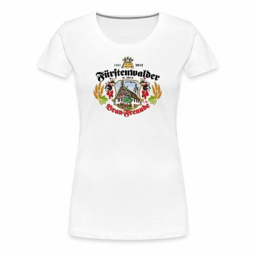 wappen Brau-Freunde - Frauen Premium T-Shirt
