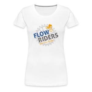 FLOWRIDERS - dust till down - Frauen Premium T-Shirt