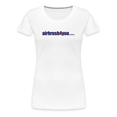 Airbrush Shop - Airbrush4You - Frauen Premium T-Shirt