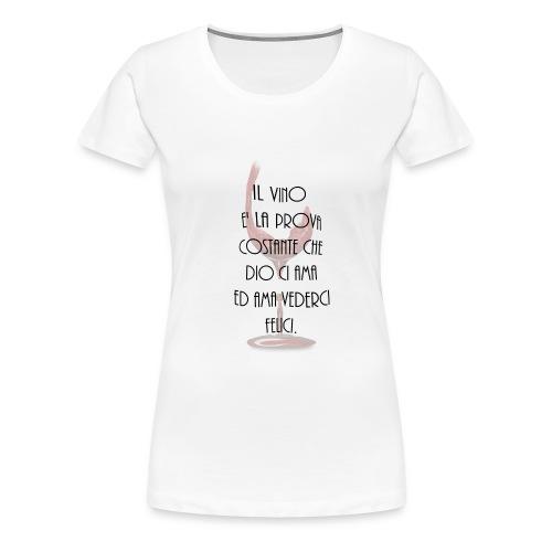 vino_italiano_ - Maglietta Premium da donna