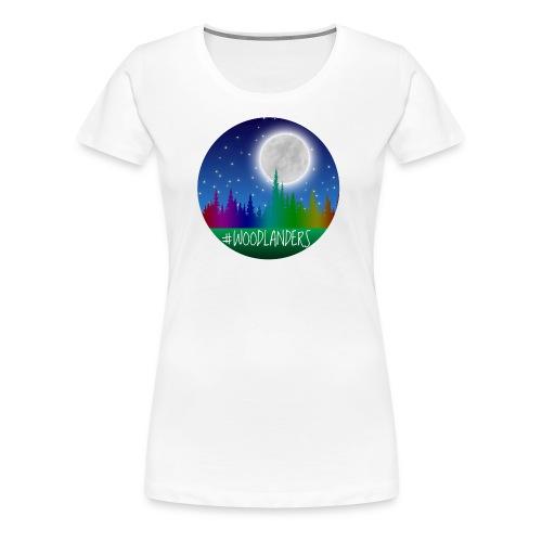 #Woodlander - Women's Premium T-Shirt