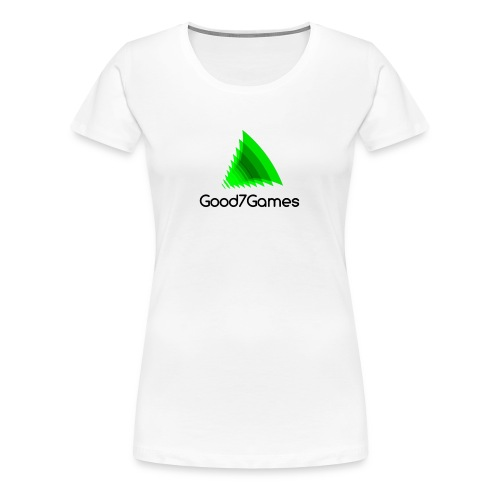 Good7Games logo - Vrouwen Premium T-shirt