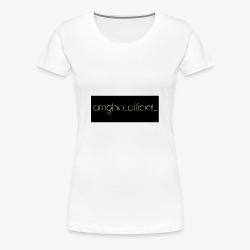 amgha_official_ - Frauen Premium T-Shirt