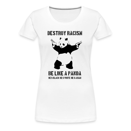 ZNISZCZ RASIZM - Koszulka damska Premium