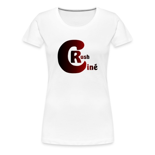 Logo Ciné Rush - T-shirt Premium Femme