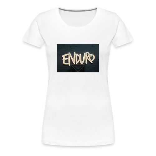 Koszulka z logiem Enduro. - Koszulka damska Premium