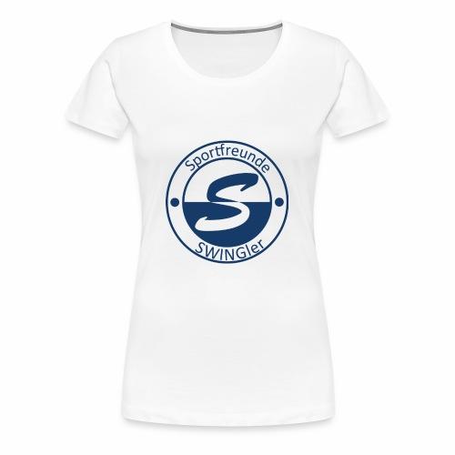 Sportfreunde SWING'ler - blau - Frauen Premium T-Shirt