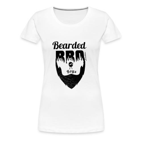 Berded BBQ Boys BLack Edition - Frauen Premium T-Shirt