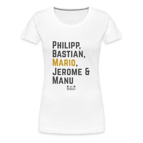 Die Weltmeister 2014 - Frauen Premium T-Shirt