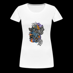 abstract line - Women's Premium T-Shirt