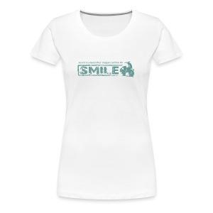 SMILE-Shirt 2018 - Frauen Premium T-Shirt