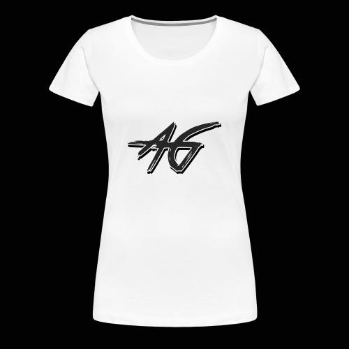 AG logo - Women's Premium T-Shirt