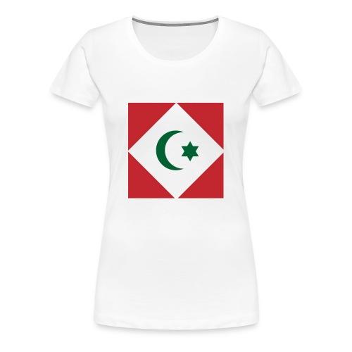 berber vlag - Vrouwen Premium T-shirt