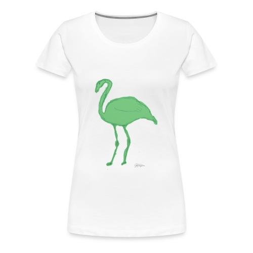 flamenco - Camiseta premium mujer