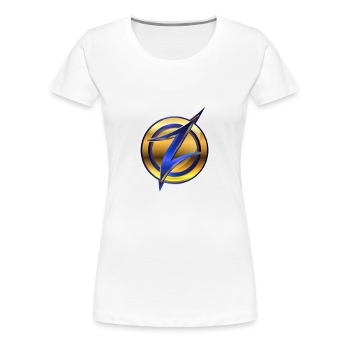 Zander logo - Women's Premium T-Shirt