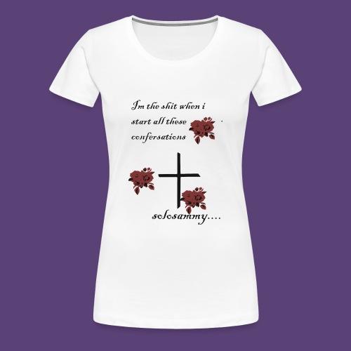confersations_roos - Vrouwen Premium T-shirt