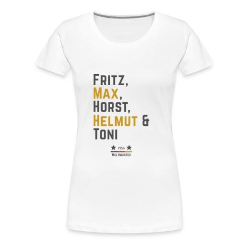 Die Weltmeister 1954 - Frauen Premium T-Shirt