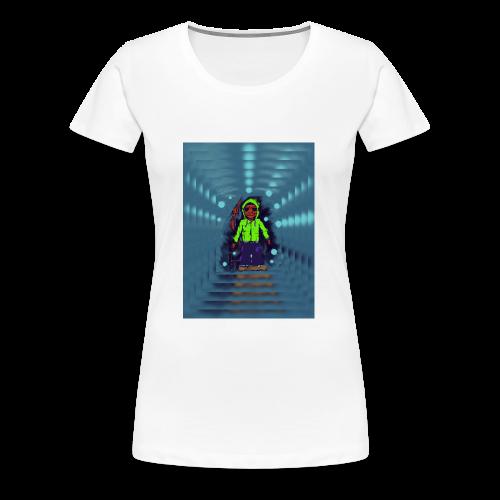Warrior of light - Camiseta premium mujer